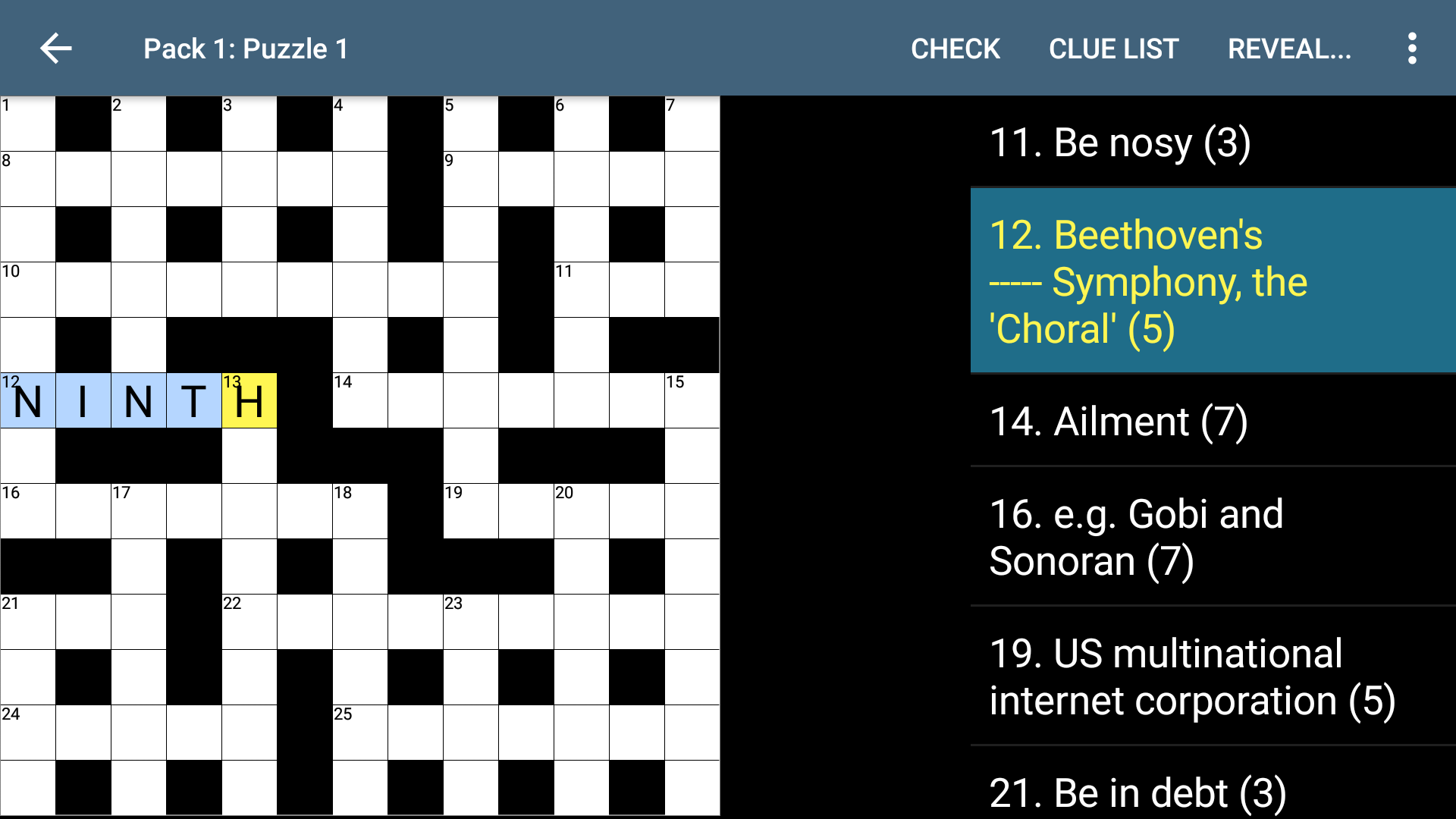Amazon Com Crossword Appstore For Android
