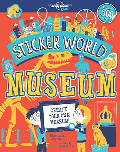 Sticker World - Museum (Lonely Planet Kids) (Basil Stamp)