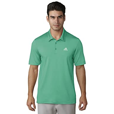 adidas Mens Ultimate 365 Solid Polo Green M