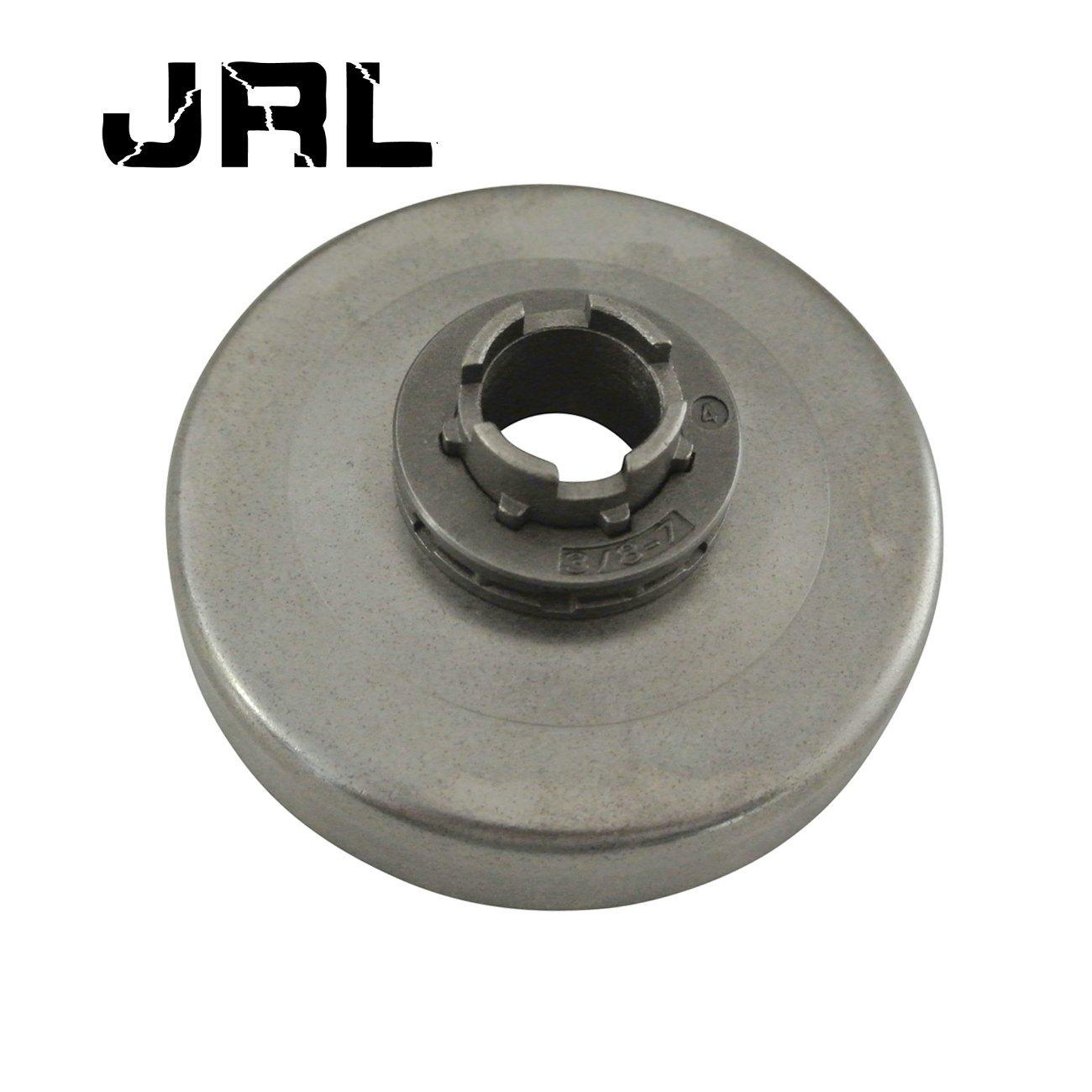 JRL 7T Sprocket Rim Clutch Drum Fit Husqvarna 181 281 285 288 394 2100 Chainsaw Kanglai Machinery
