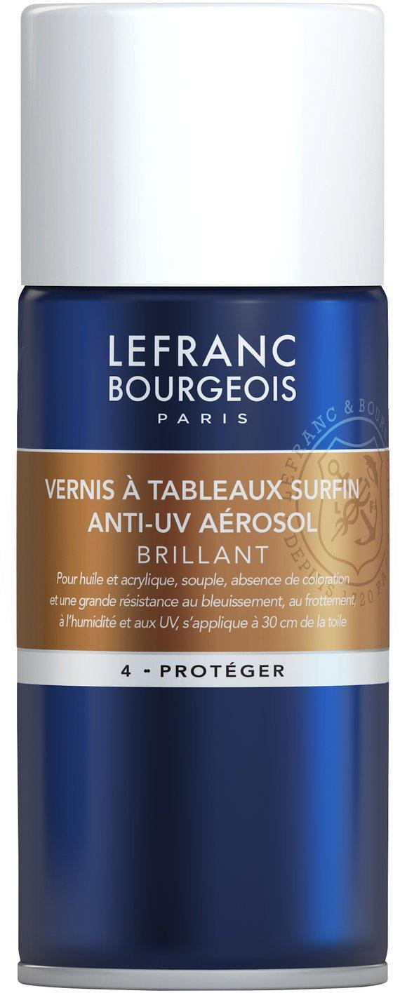 Lefranc Bourgeois Peinture Vernis à tableau surfin aéro 400 ml Transparent Lefranc & Bourgeois 300219