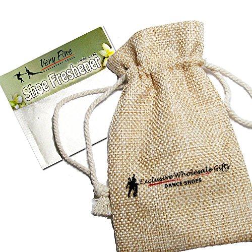 Bundle- 4 items - Very Fine Mens Womens Unisex Practice Dance Sneaker Split Sole VFSN012 Pouch Bag Sachet, Low Profile:Black 11 M US by Very Fine Dance Shoes (Image #1)