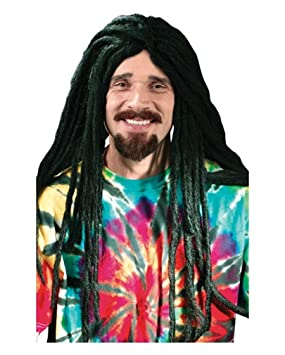 Horror-Shop Dreadlock peluca negro