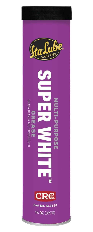 CRC SL3150 Super White Multi-Purpose Lithium Grease, 14 Wt Oz