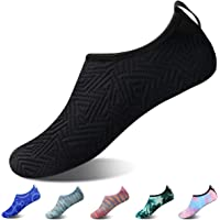 Hotaden Water Shoes for Men Women Quick Dry Aqua Socks Slip-on Beach Swimming Outdoor Shoes
