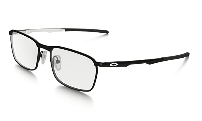 fb00949805b55 Oakley Conductor OX3186-0552 Eyeglasses Satin Black White 52  Amazon ...