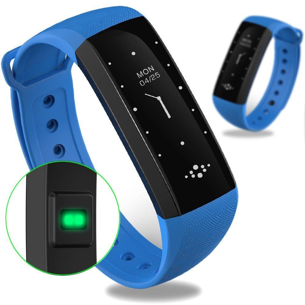 WEARFIT Fitness Tracker Bluetooth Smart Watch Heart Rate