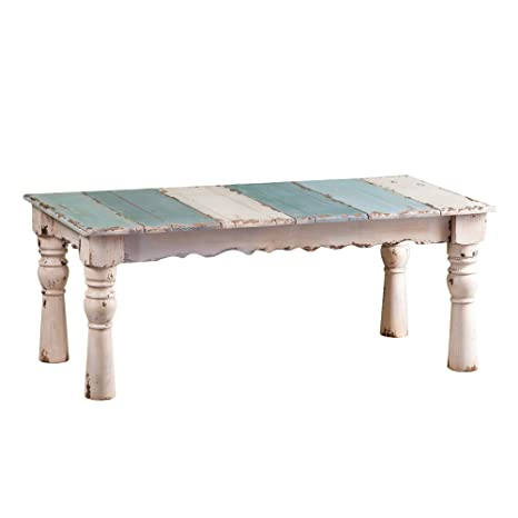 Phenomenal French Country Weathered Wood Table Solid Wooden Construction Distressed Finish Coffee Table Ncnpc Chair Design For Home Ncnpcorg
