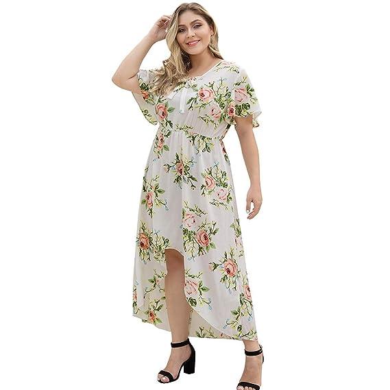 Vestidos Mujer Largo Verano, MINXINWY Vestido de Fiesta Moda ...