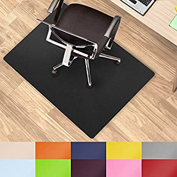 Black Office Chair Mat