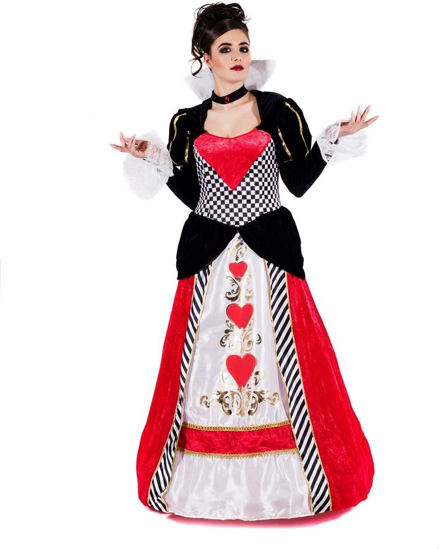 Fun Shack Roja Reina De Corazones Disfraz para Mujeres - S: Amazon.es: Juguetes y juegos