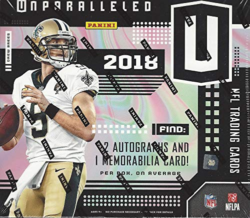 2018 Panini Unparalleled NFL Football HOBBY box (8 pk)