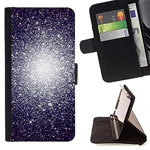 Momo Phone Case / Flip Funda de Cuero Case Cover - Système Univers Cosmos - Sony Xperia M2