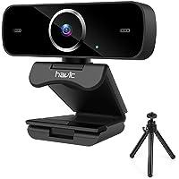 havit 1080p HD webbkamera PC webbkamera för videosamtal Youtube med autofokus, för bärbar dator minikamera med HD…