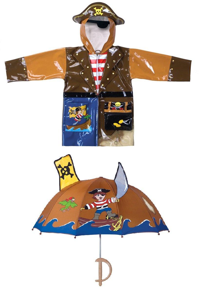 Kidorable Pirate Raincoat and Umbrella set (6/6X)