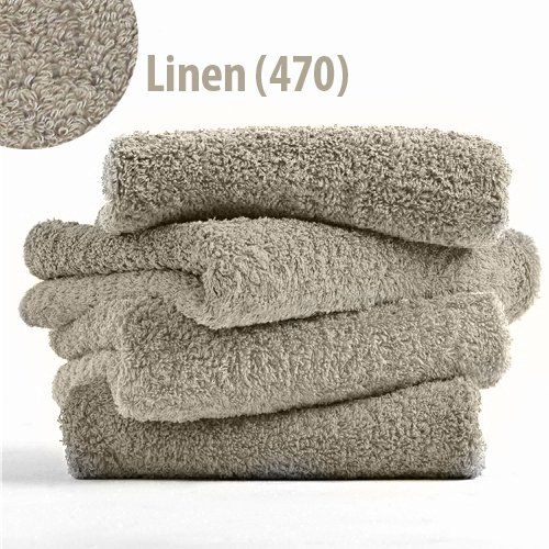 Abyss Super Pile Wash Cloth (12'' x 12'') - Linen (770) by Abyss Habidecor (Image #2)