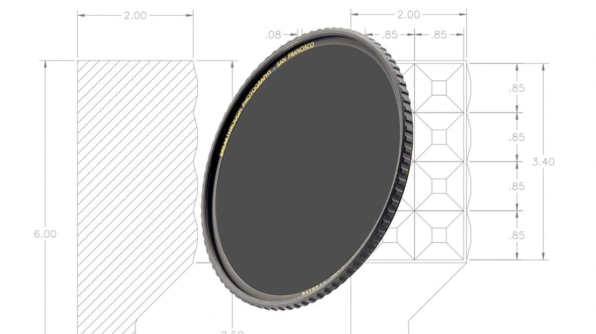 Breakthrough Photography 82mm X4 10-Stop ND Filter Camera Lenses, Neutral Density Professional Photography Filter Lens Cloth, MRC16, Schott B270 Glass, Nanotec, Ultra-Slim, Weather-Sealed by Breakthrough Photography (Image #6)