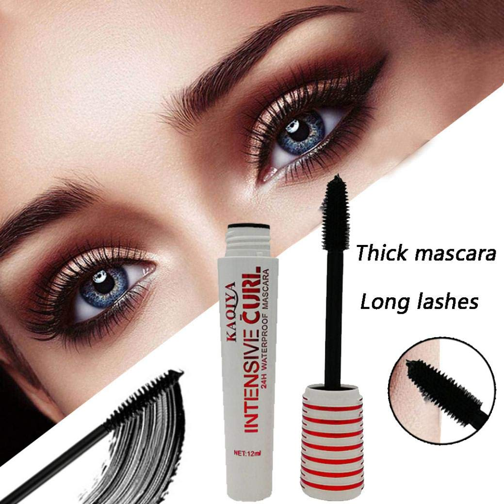 Amazon.com : 3D Fiber Mascara Waterproof Smudgeproof Hypoallergenic ...