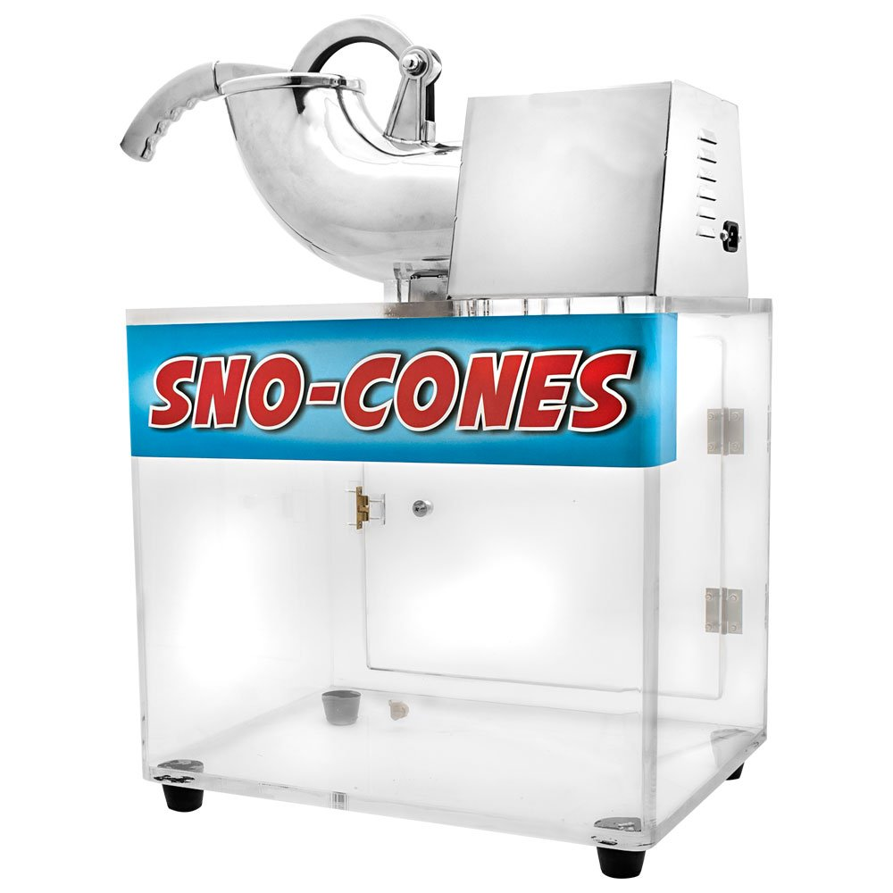 Concession Land - 120v Clear SNO-Cone Machine