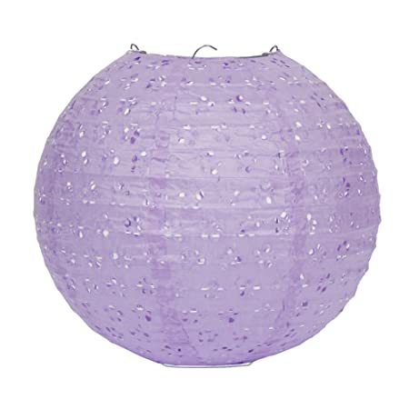 Incredible Dazone Chinese Ball Shaped Carved Paper Lantern Lampshade With An Led Light For Decorating Weddings Homes Christmas And Parties Pack Of 10 Download Free Architecture Designs Viewormadebymaigaardcom