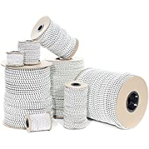 Paracord Planet Elastic Shock Absorbent True-Quality Standard Bungee Cord – Available in 1/8, 3/16, 1/4, 5/16, 3/8, and 1/2 Inch Diameters – Great for Use in Work, Utility, Art, Crafts, and Repairs