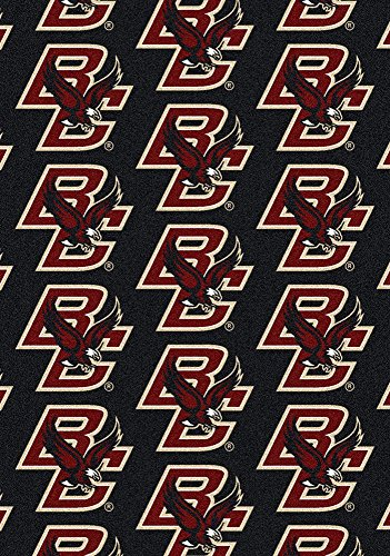 American Floor Mats Boston College Eagles NCAA College Repeating Team Area Rug 10'9