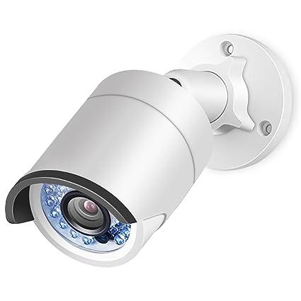 Komon Cámara IP de vigilancia para exterior, función P2P, 4 MP H264+