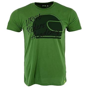 Valentino Rossi Vr46 Moto Gp Riders Academy Grun T Shirt Offiziell