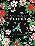2019 Adult Coloring Book Planner: Weekly and
