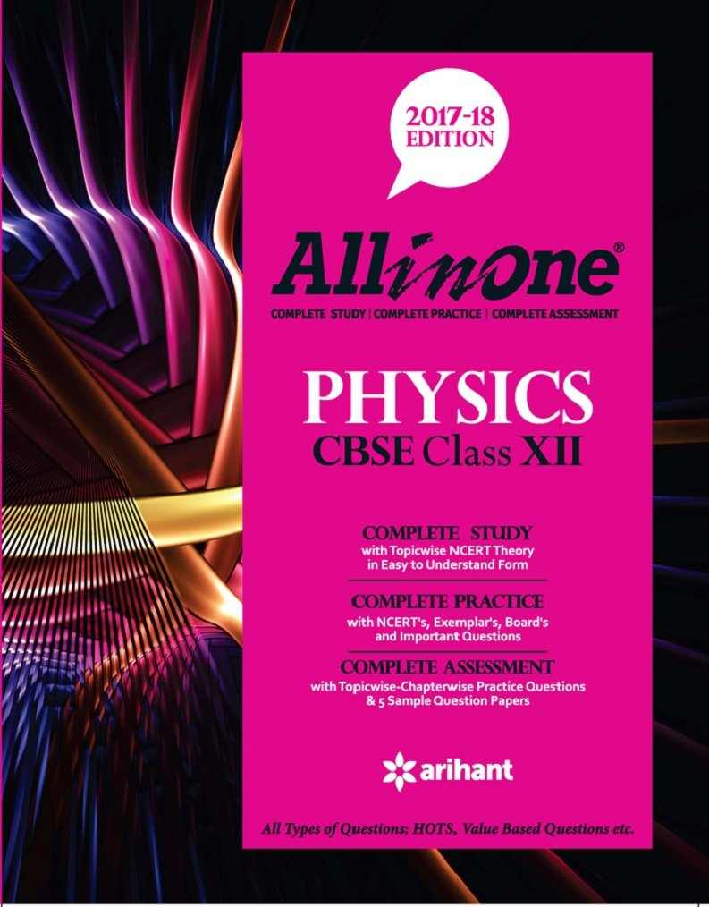 Poster design class 12 - Buy All In One Physics Cbse Class 12th Edition 2017 18 Book Online At Low Prices In India All In One Physics Cbse Class 12th Edition 2017 18 Reviews