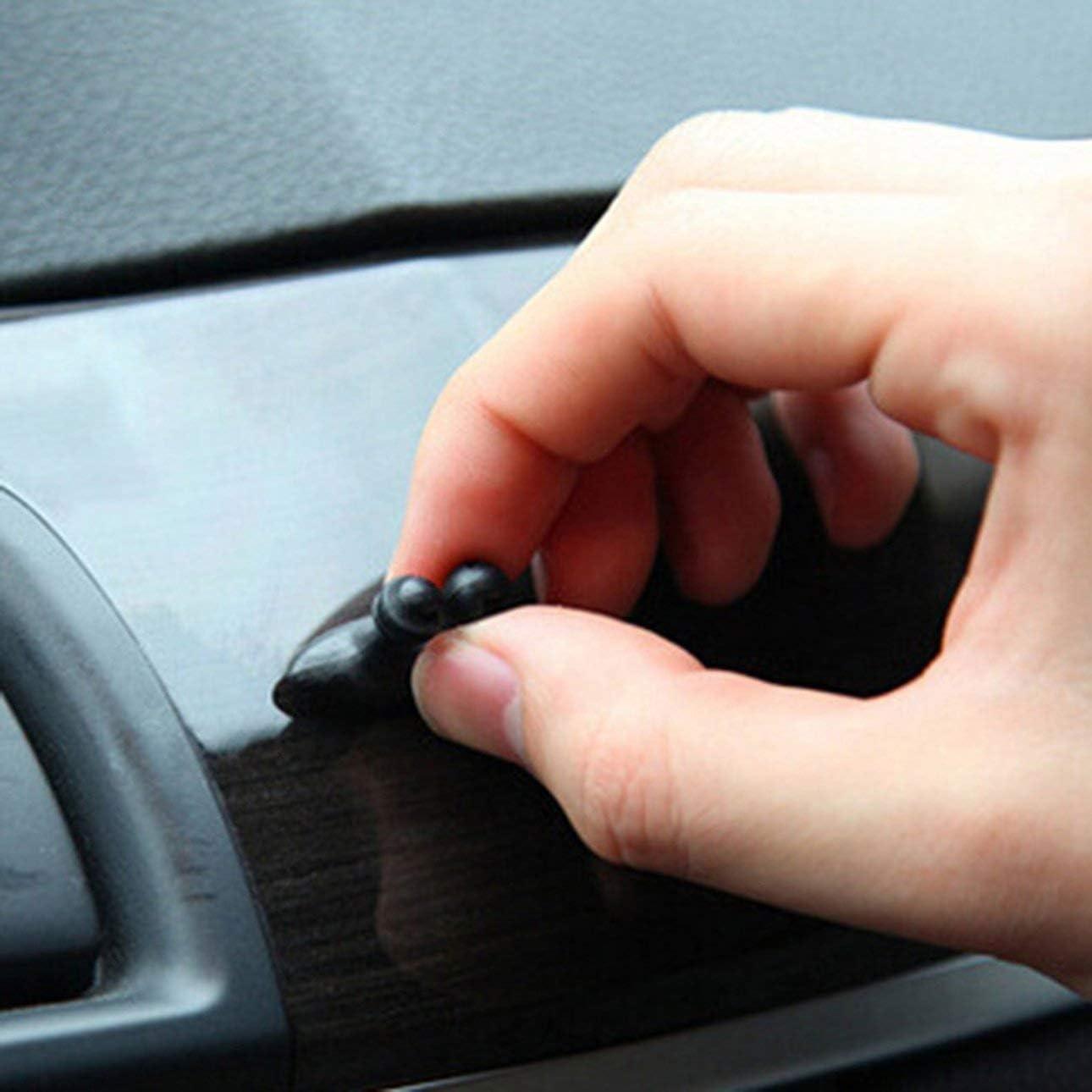 lot Clip de c/âble de Voiture c/âble USB Pince Fixe Chargeur de c/âble de Charge adh/ésif Chargeur de Voiture Ligne Fermoir c/âble USB Pince de Voiture Celerhuak 8pcs
