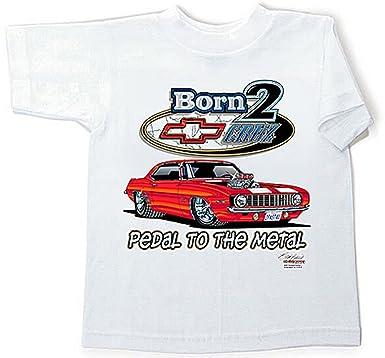 Born To Cruz Camaro Kids Classic Car Tee Shirt Clothing