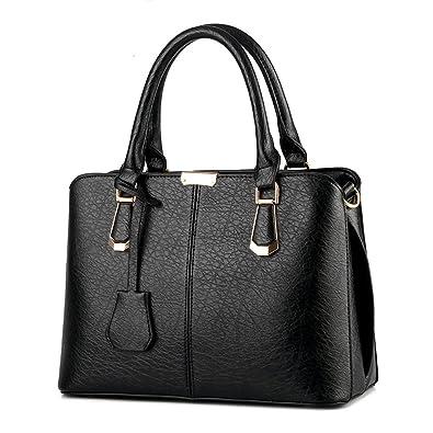 166a177651d8 Ruiren Women Casual Fashion Handbag Crossbody Messenger Shoulder Purse Tote  Satchel Shopping Handbag  Amazon.co.uk  Shoes   Bags