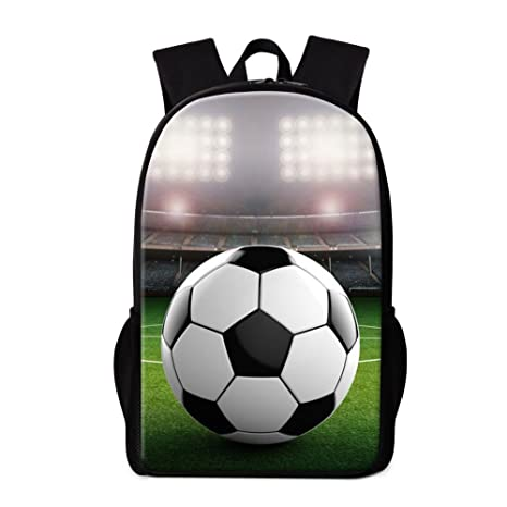 c877bc86bd4d Image Unavailable. Image not available for. Color  Dispalang Soccer Backpack  for Children Cool Bagback Satchel Boys Daily Bag