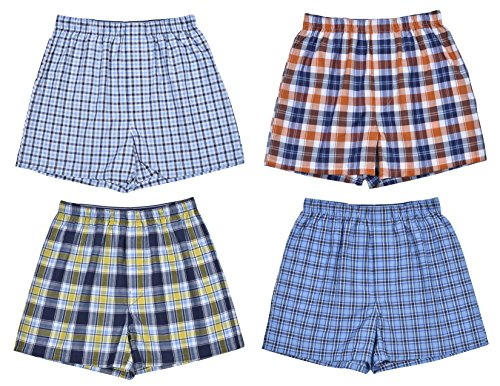 Pack Woven Boxer Shorts (Medium / 10-12, Classic Assortment II) ()