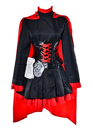 Amazon Com Tokyo T Rwby Cosplay Ruby Rose Full Costume Set Vol 1 3