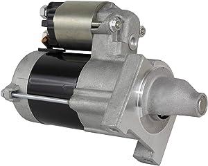 Rareelectrical NEW STARTER MOTOR COMPATIBLE WITH JOHN DEERE GATOR TX UTV 13HP KAWASAKI ENGINE 21163-7020