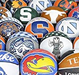 50 PC COLLEGE MINI BASKETBALL, Case of 3