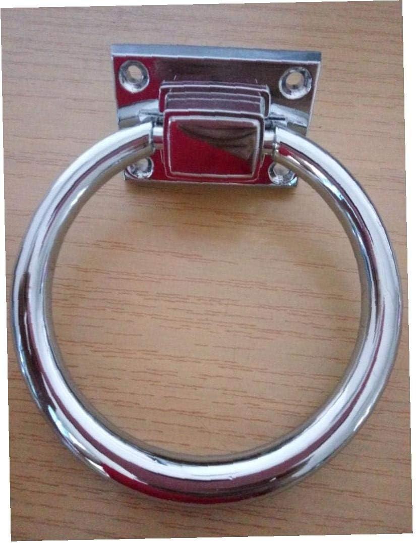 Case Cover 1pc Kreis-Ring Griff T/ürklopfer Dekorative Stuhl Griffe Griff F/ür Stuhl