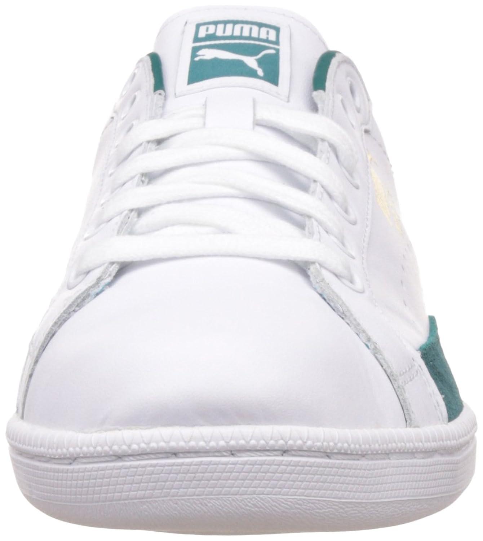 Puma Match 74 UPC, Baskets Mode Mixte Adulte, Blanc (White-Green Gables), 38.5 EU
