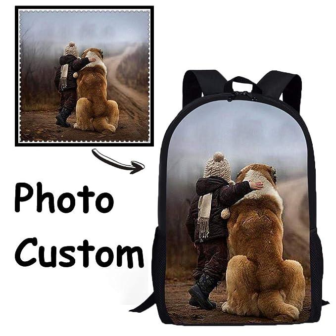 d350bed19567 Amazon.com  FOR U DESIGNS Cool Custom Shoulder Backpack Teens Kids ...