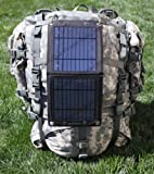 Portable Power Solutions™ Bi Pod™ 7W Foldable Solar Panel - Portable Solar Charger for use with iPhone, iPad, iPod, Android Smart Phones and Tablets, Windows Phones, Samsung Galaxy, as well as GoPro Cameras and many other 5V USB Devices