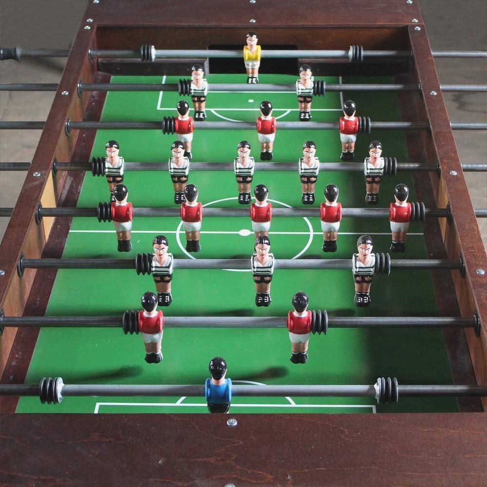 Bilhares Carrinho portugués Profesional Comercial de Madera futbolín de fútbol Mesa Matraquilhos: Amazon.es: Deportes y aire libre