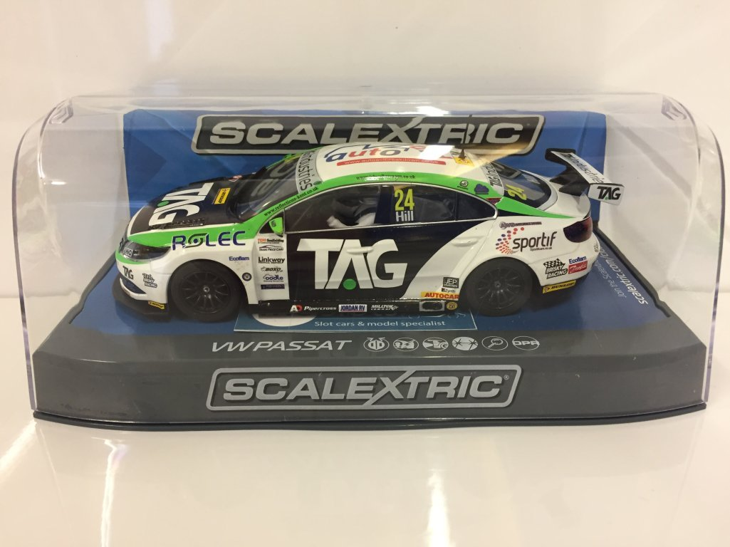 Scalextric C3918 VW Passat CC NGTC Team HARD - BTCC 2017 Jake Hill Kostenloser Versand