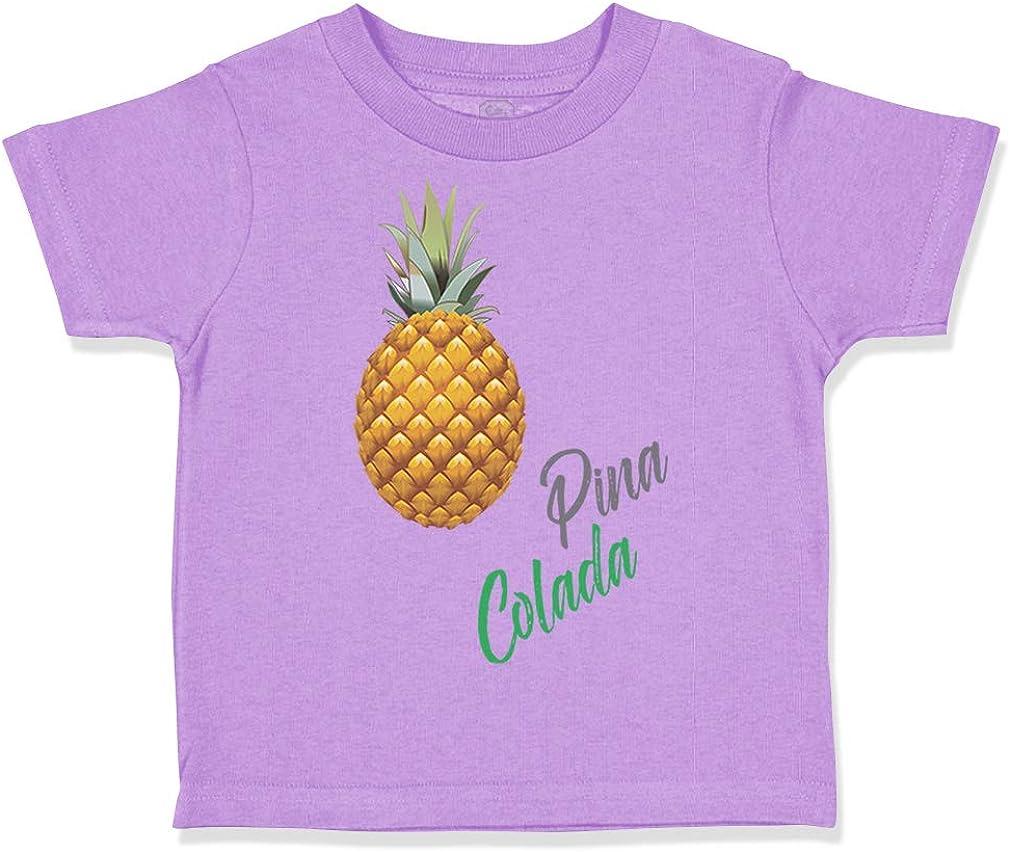 Custom Toddler T-Shirt Pineapple Pina Colada Funny Humor Boy /& Girl Clothes