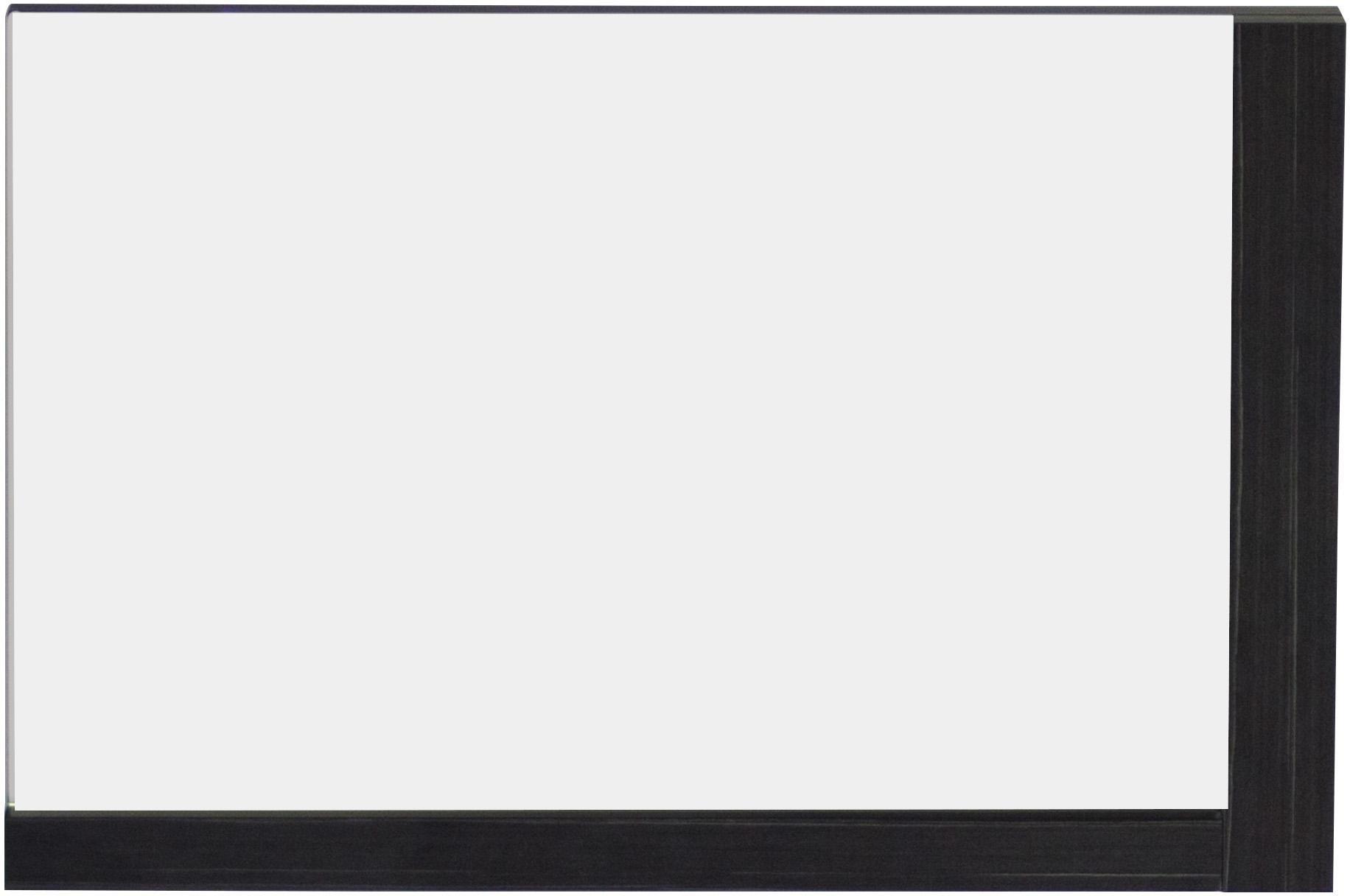 American Imaginations 611   32-Inch W X 24-Inch H Solid Plywood Mirror Finished with Modern Style Melamine, Dawn Grey Finish