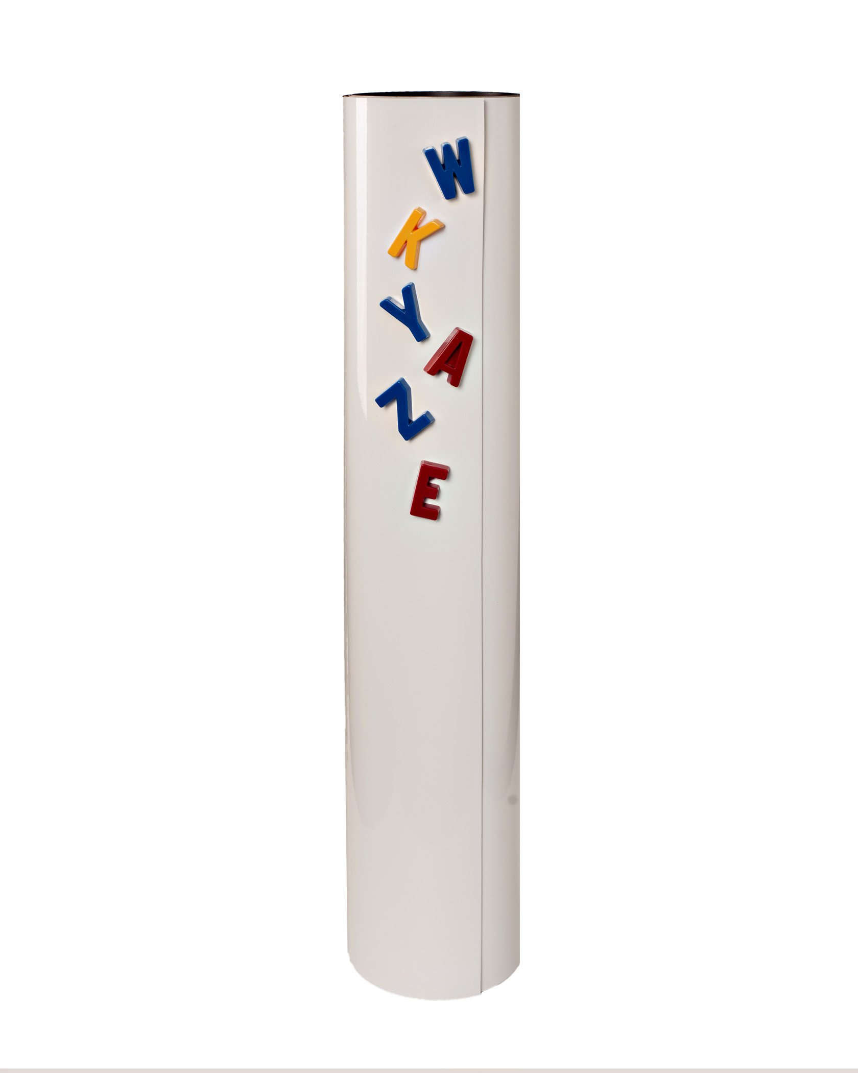 Double Magnetized Dry Erase White Roll - 24'' X 5' - Write-On/Wipe-Off