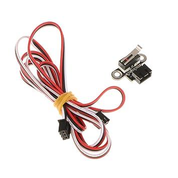 Homyl Interruptor de Reinicio con Cable 1m REstablecimiento Táctil ...