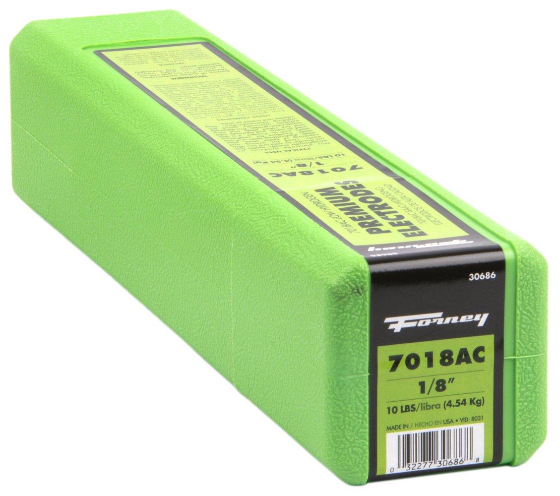 Forney 30686 E7018 AC Welding Rod, 1/8-Inch, 10-Pound