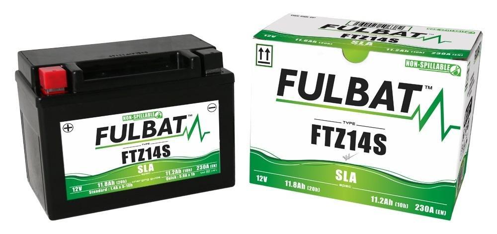 Yamaha FZ1 1000 N//NA//S//SA GT Fazer ABS FTZ14S Wartungsfreie SLA GEL Fulbat Batterie DIN51499